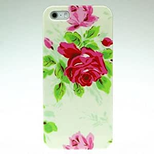 LZX Spring Flower Pattern Hard Case for iPhone 4/4S