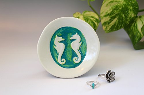 Seahorse-Dish-Small-Ring-Tray-or-Spoon-Rest