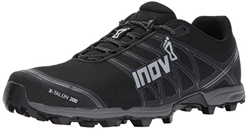 Cheap Inov-8 X-Talon 200 Unisex Sneaker, Black/Grey, M9.5 W11 E US
