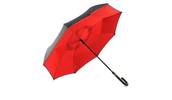 Paraguas con cierre del revés doppler crazy: Amazon.es: Zapatos y complementos