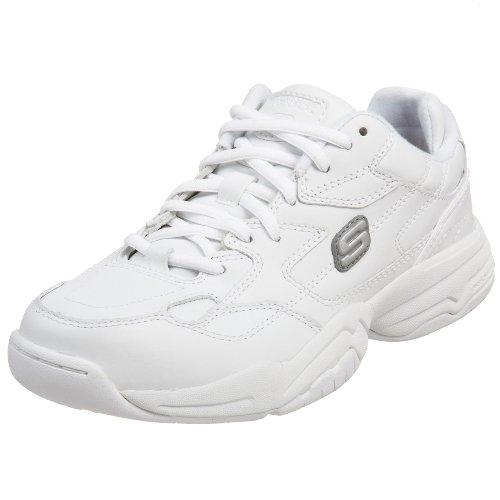 Skechers for Work Women's Felix - Marathon Sneaker,White,8.5 M US