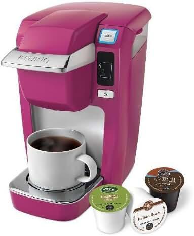 Keurig Mini Plus K10 Single Serve Coffee Brewing System, Hot Pink-Mauve