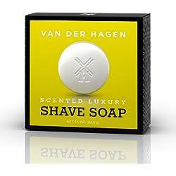Van Der Hagen Men's Luxury Scented Soap, 3.5-Ounces (Pack of 3)