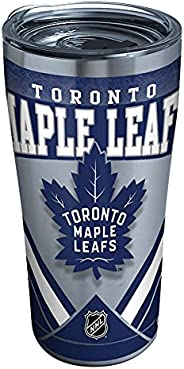 Tervis NHL Toronto Maple Leafs Ice Stainless Steel Insulated Tumbler with Clear and Black Hammer Lid, 20oz, Si
