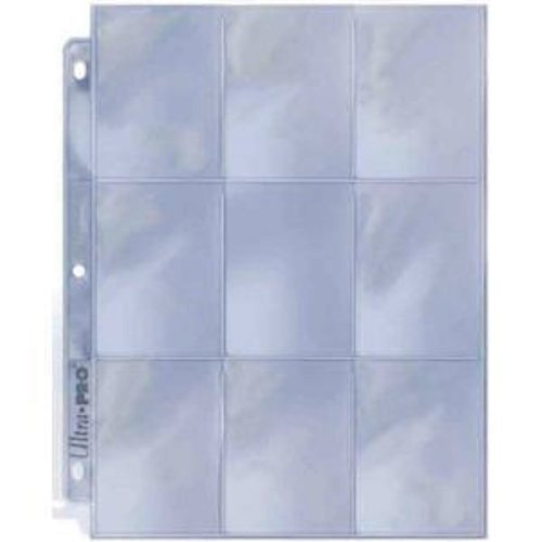 Ultra Pro 9-Pocket Silver Series Page Protector for Standard Size Cards (50ct) (Pokemon Best Card Opening)