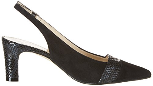 Shangay Negro 19871 vestir Negro Noir Ante de PALOMA STUDIO Mujer Zapatos Negro vF6qf7Pw
