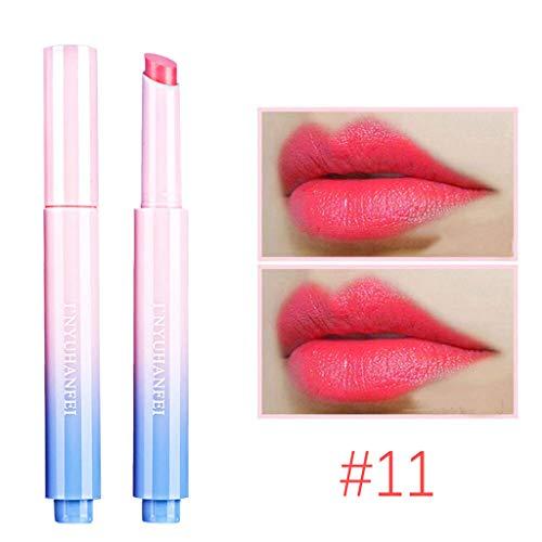 KCPer Matte Lipstick Nude Moisturizer Smooth Lip Stick, Waterproof Lipstick Mate Make up Velvet Lip Gloss Cosmetic Ladies Beauty Makeup Sexy Hydrating Long Lasting (K)