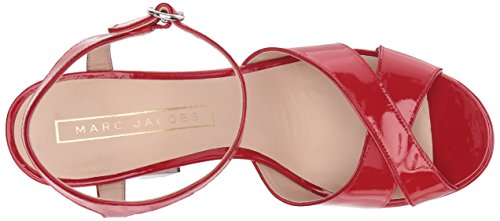 Marc Jacobs Women's Lust Platform Heeled Sandal Red AwXkqf