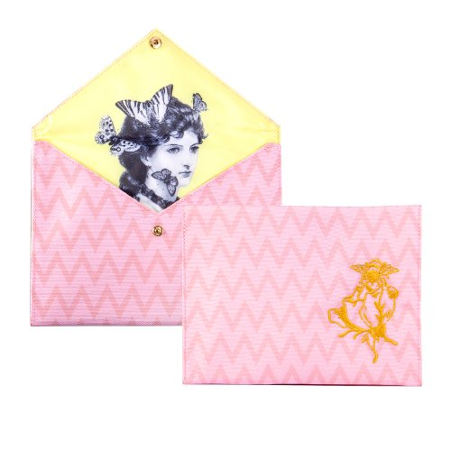 Nube kuckuck Canvas borsa per accessori Rose