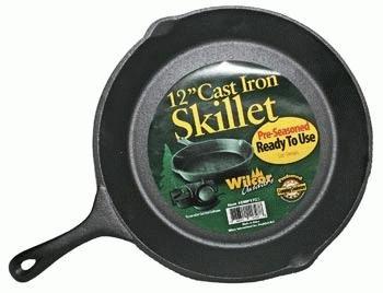 Cast Iron Skillet 12-inch Pre-Seasond, Ready to Use