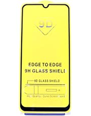 Samsung Galaxy M31 9D Full Cover Glass Screen Protector Black