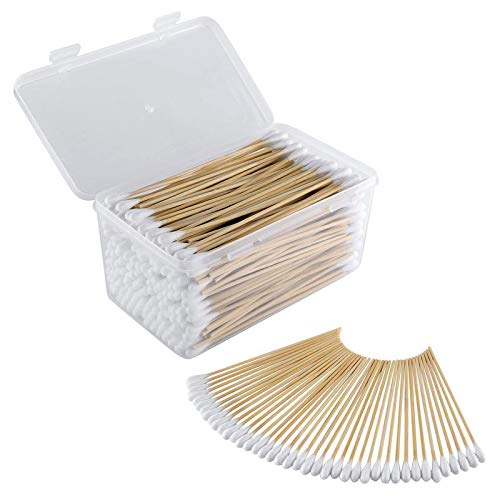 Swab Gun - BOOSTEADY .22 .223 5.56 Caliber 6 Inch Cotton Gun Cleaning Swabs in Storage Case 300 Quantity