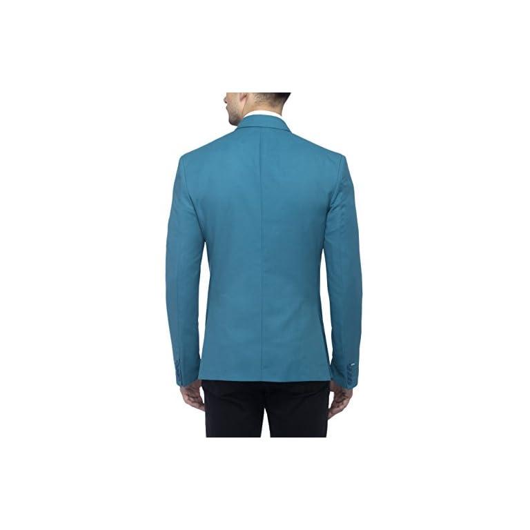 41tNAqhhLwL. SS768  - FAVOROSKI Men's Blazers - Turkish Green