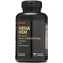 GNC Mega Men Multivitamin 180 Caplets, 90 Servings