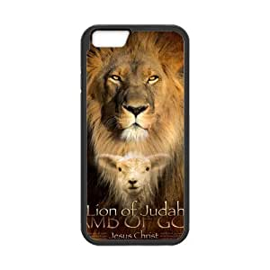 iPhone 6 Case, [bible christian jesus Lion of Judah] iPhone 6 (4.7) Case Custom Durable Case Cover for iPhone6 TPU case(Laser Technology)