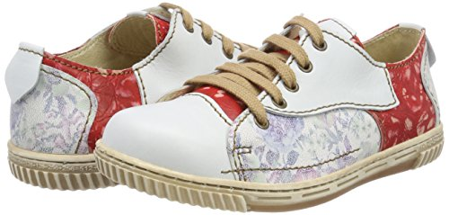 para Blanco Vino Zapatos Weiß Oxford de Mujer Cordones Rovers Nieve Nieve vYqwUSxnI