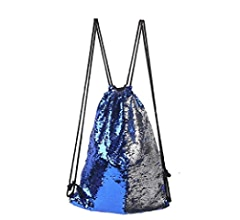 Amazon.com: Drawstring Bag Strap Panelled Double Color Sequins Women Men Shoulder Bag Designed Straps for Backpack Bolsas Feminina #7421,D: Computers & ...