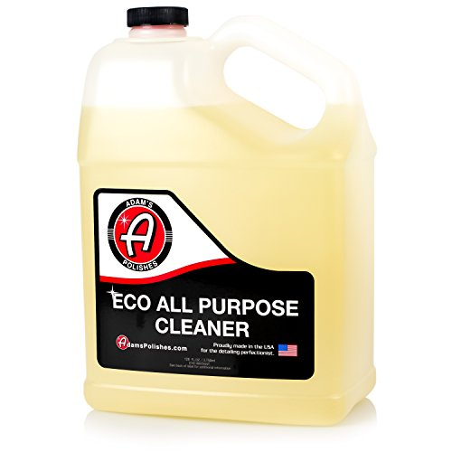 Adams ECO All Purpose Cleaner Gallon - Industrial Strength, Concentrated Formula Can be Diluted Down - Tough on Dirt but Easy on Your Car, You, and The Environment