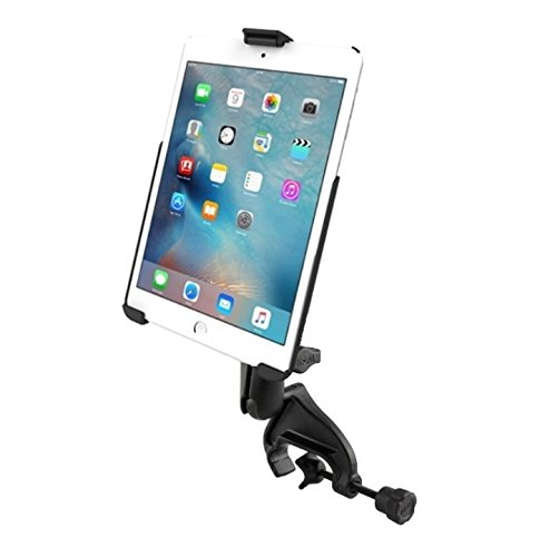 Heavy Duty Yoke Clamp Aircraft Airplane Mount Holder fits Apple iPad Mini 4