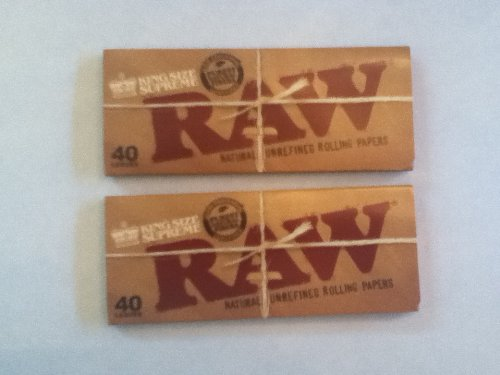 Raw King Size Supreme Rolling Papers 2Pk