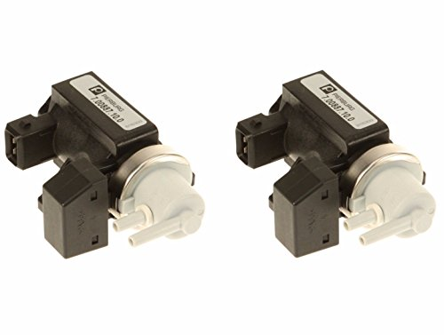 Set of 2 Turbocharger Boost Solenoid Valves (Pressure Converter Sensors) OEM for BMW