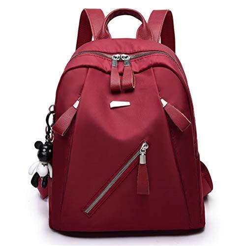 C di ragazze adolescenti Sacchetti Donna nero Vhvcx scuola femminile impermeabile Fashion Nylon Travel Zaino per b7gfY6y