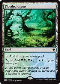 Flooded Grove - Foil - Masters 25