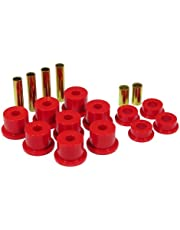 Prothane 6-1012 Red Front Spring Eye and Shackle Bushing Kit