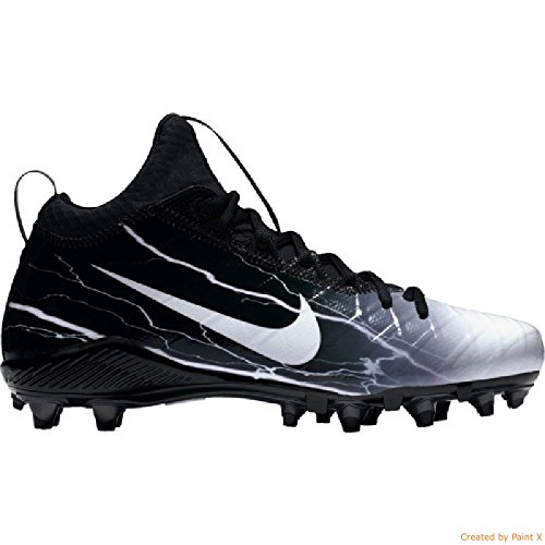 Design Nike Football Cleats - Nike Field General 3 Elite TD Mens Football Cleats (12, White-black)
