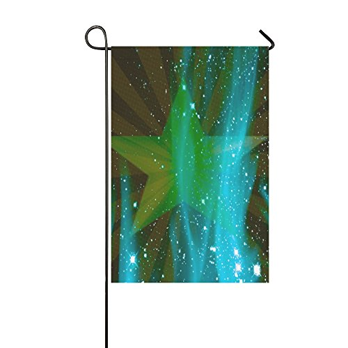 ENEVOTX Home Decorative Outdoor Double Sided Star Design Green Texture Garden Flag,house Yard Flag,garden Yard Decorations,seasonal Welcome Outdoor Flag 12 X 18 Inch Spring Summer (Texas Olive Tree)