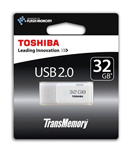 Toshiba THNU32HAYWHT(6 - Memoria USB de 32 GB, color blanco