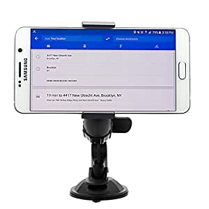Affordable Universal Car Windshield Mount Holder 360 Rotating for iPhone and Galaxy and Smartphones androids and most portable devices