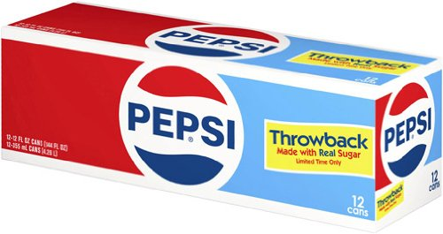 Pepsi Cola Throwback 12 Pack product image