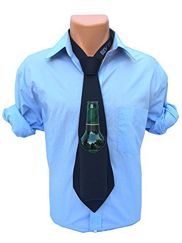 The Original Bev Tie - Hands Free Drink Holder - Beer Tie (Black) (Party City In Asheville Nc)