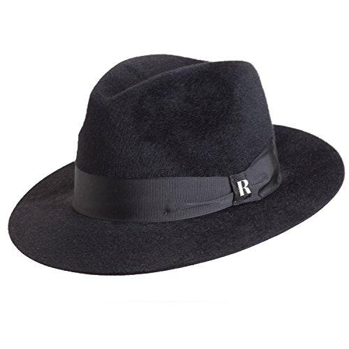 d469031026 RACEU ATELIER Sombrero Bronx Negro - Hombre o Mujer Durable Modelando