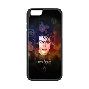 iPhone 6 Plus 5.5 Inch Cell Phone Case Black Jackson King Of Pops Face BNY_6911965
