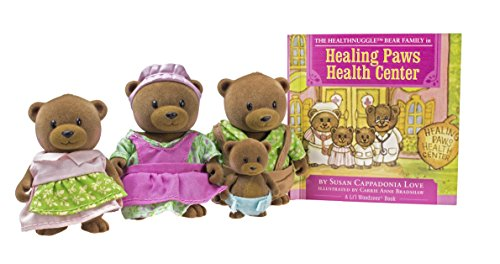 Li'l Woodzeez Healthnuggles Bear Family Set with Storybook