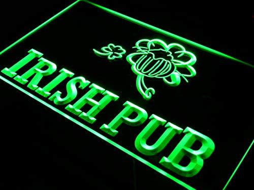 ADVPRO Cartel Luminoso i969-g Irish Pub Bar Club Display ...