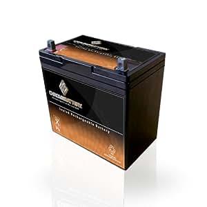 12V 55Ah Renewable Energy Solar Industial Deep Cycle Battery