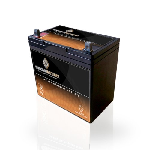 12V 55Ah AGM Deep Cycle Battery For RENOGY PV SOLAR PANELS