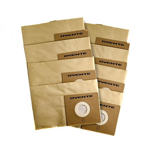 Ovente Premium Replacement Dust Bag Filters, ST1600 Series (ACPST16708)