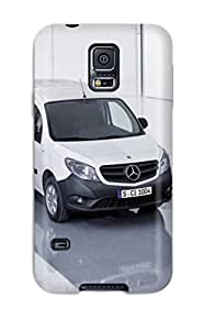 For Galaxy S5 Premium Tpu Case Cover The Three Mercedes Protective Case