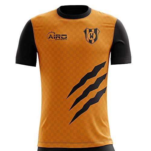 (Airo Sportswear 2019-2020 Wolverhampton Home Concept Football Soccer T-Shirt)