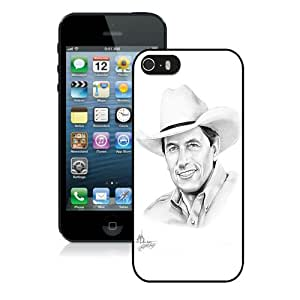 Provide Personalized Customized George Strait (2) Black iPhone 5 5S Protective Phone Case