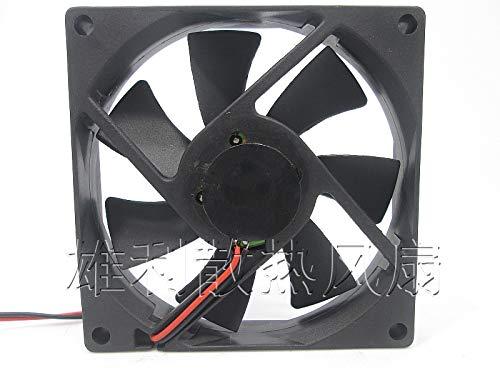 REFIT DFS801512M 12V 1.7W 8CM 8015 2-Wire Thin Cooling Fan