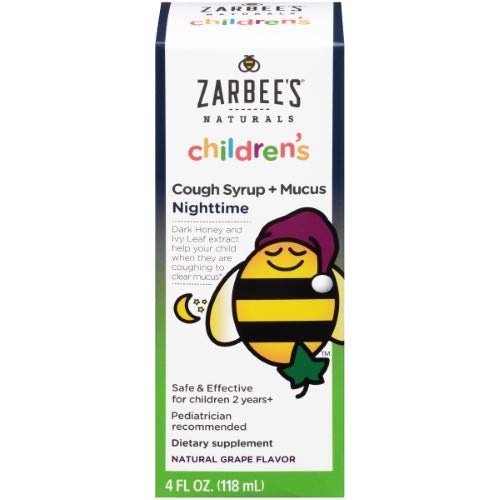 Zarbees - Childrens Cough Syrup Mucus Nighttime Natural (Pack of 24)