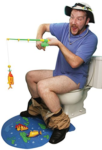(BigMouth Inc Hook Line And Stinker Toilet Fishing Game)