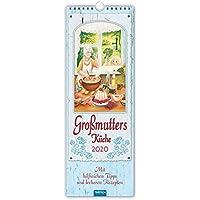 """Maxi-Streifenkalender """"Grossmutter´s Küche"""" 2020: 15 x 42 cm, mit hilfreichen Tipps und leckeren Rezepten"""