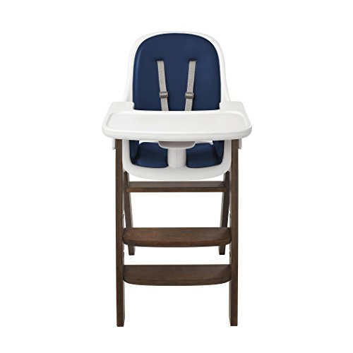 Oxo Tot Sprout High Chair, Navy/Walnut