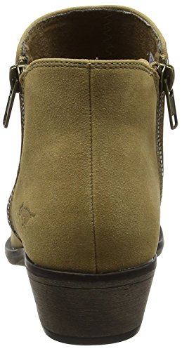 Rocket Dog Akron, Chelsea Boots Femme, Noir Marron (Natural Natural)